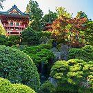 Waterfall, Japanese Tea Garden by SusanAdey