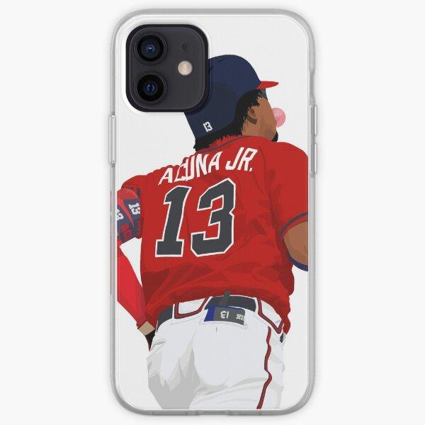 Ronald Acuña Jr. 13 Funda blanda para iPhone