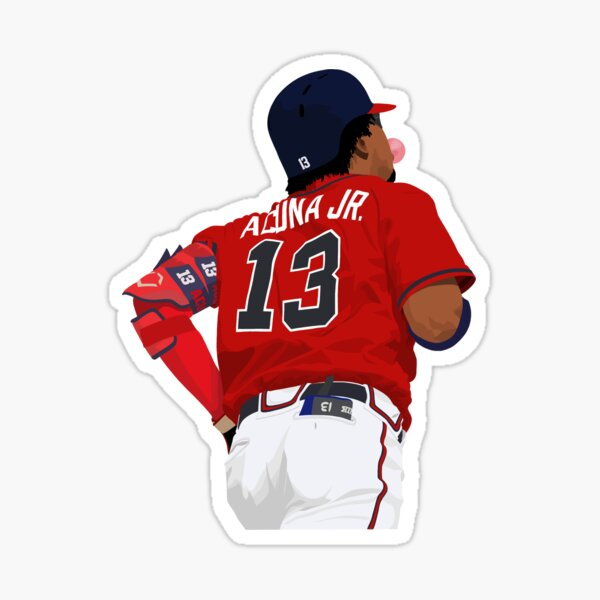 Ronald Acuña Jr. 13 Sticker