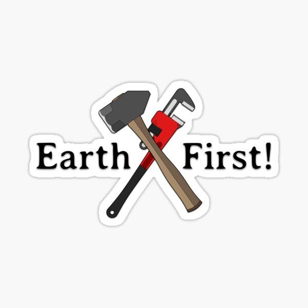 Earth First! Sticker