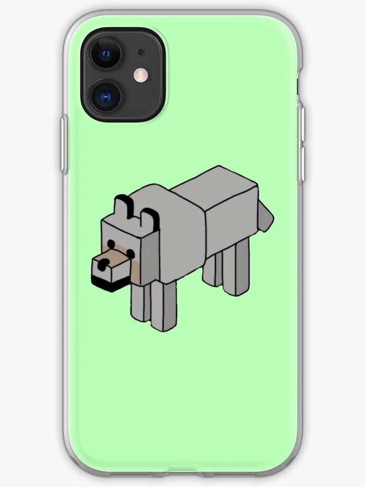 coque iphone 8 minecraft