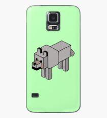Minecraft Wolf Design Case/Skin for Samsung Galaxy
