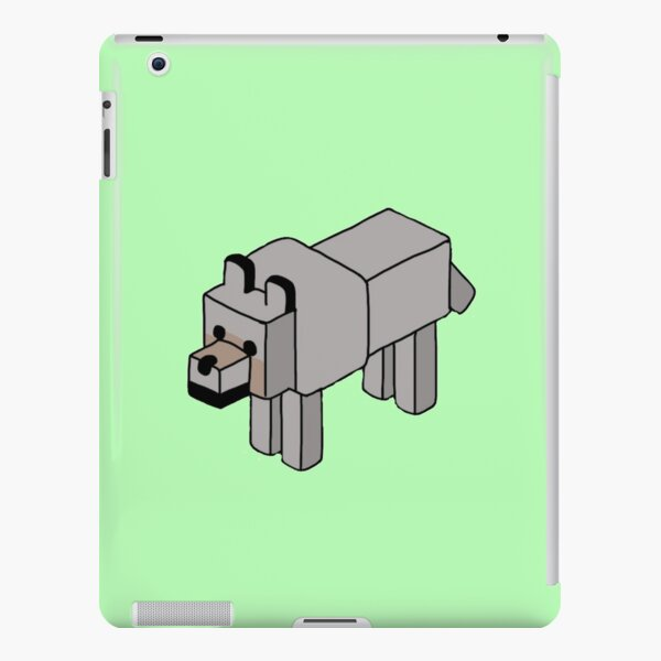 Minecraft Wolf Design iPad Snap Case