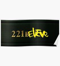 221BELIEVE Poster