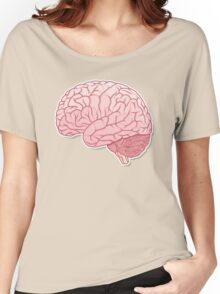 pinky brain Women's Relaxed Fit T-Shirt