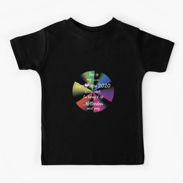 Eurovision 2020 - Eurovision song contest - ESC fans - Canceled  Rotterdam Eurovision Depression  Kids T-Shirt