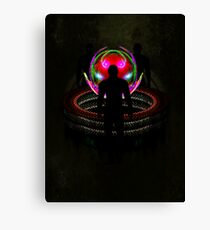 In the sphere - The meeting point Canvas Print