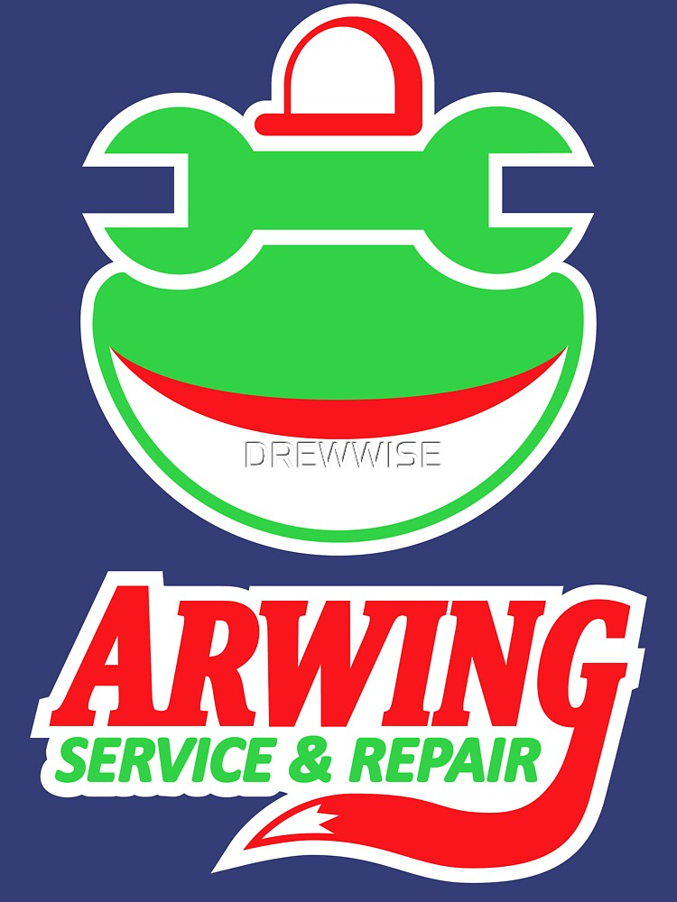 ARWING SERVICE & REPAIR | Unisex T-Shirt