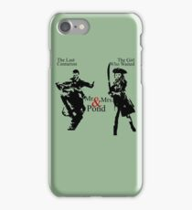 Mr. & Mrs. Pond - Doctor Who iPhone Case/Skin
