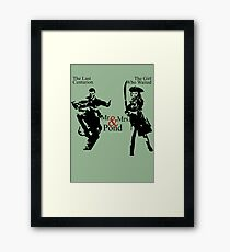 Mr. & Mrs. Pond - Doctor Who Framed Print