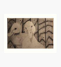 Quack! Art Print