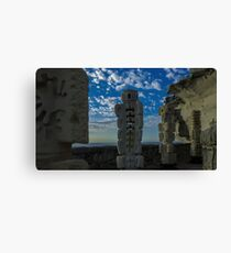 Sandstone sculptures Canvas Print