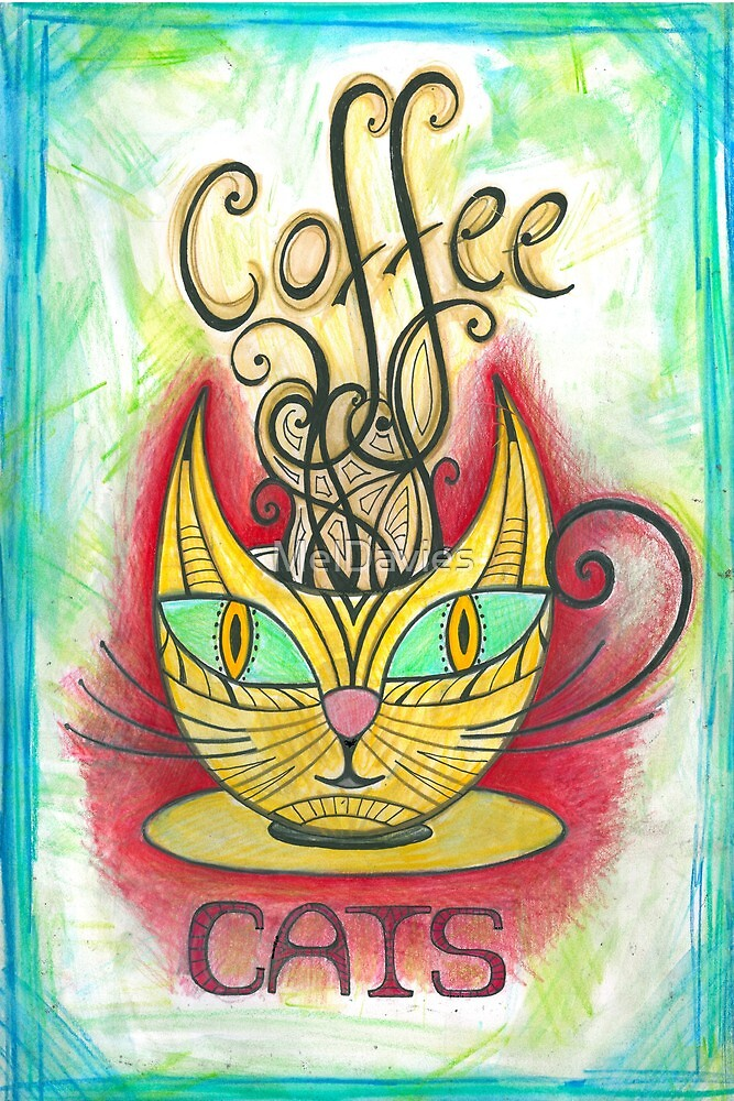 Coffee Cats by MelDavies