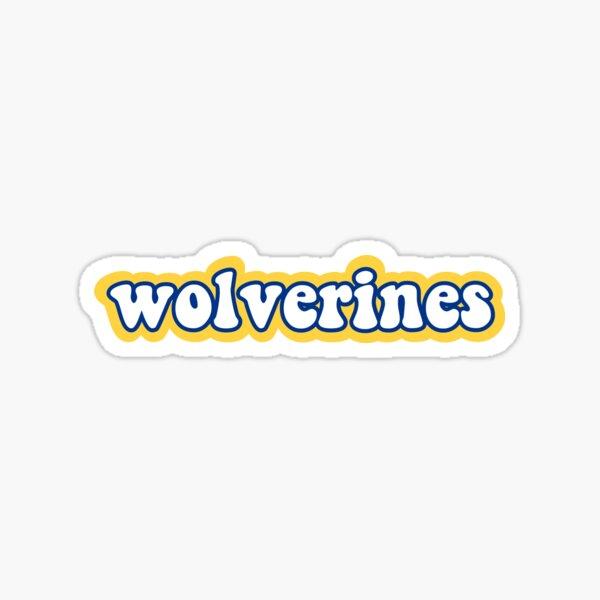 University of Michigan Wolverines Sticker