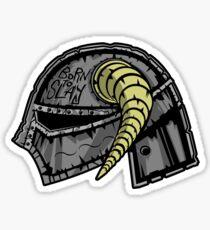 Fus Metal Jacket Sticker