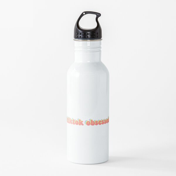 tiktok obsessed Water Bottle