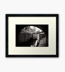 Beneath Livery Street Framed Print