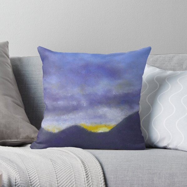 A New Day (pastel) Throw Pillow