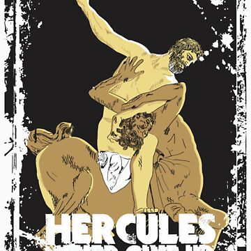 HERCULES NEVER GIVE-UP by sakshamputtu