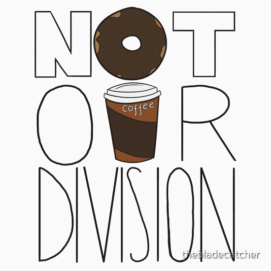 TShirtGifter presents: Not Our Division!
