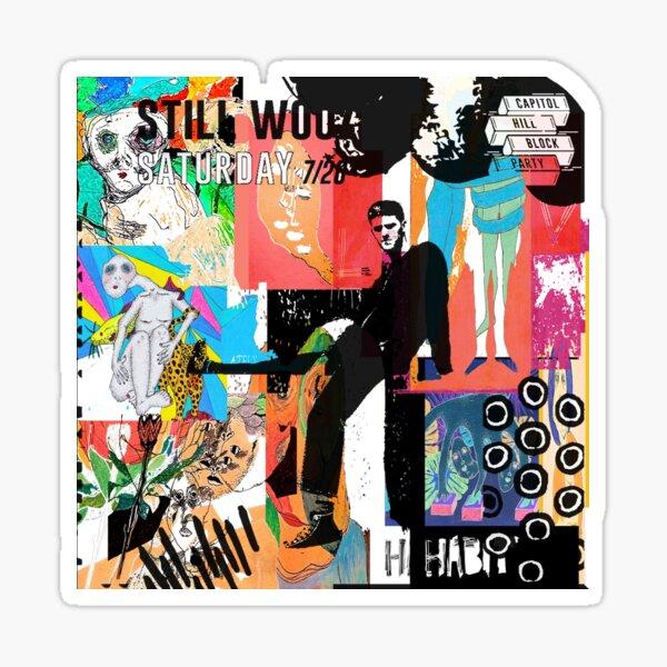 Still Woozy Album Art Sticker