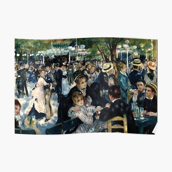 Pierre-Auguste Renoir   Bal du Moulin de la Galette Poster