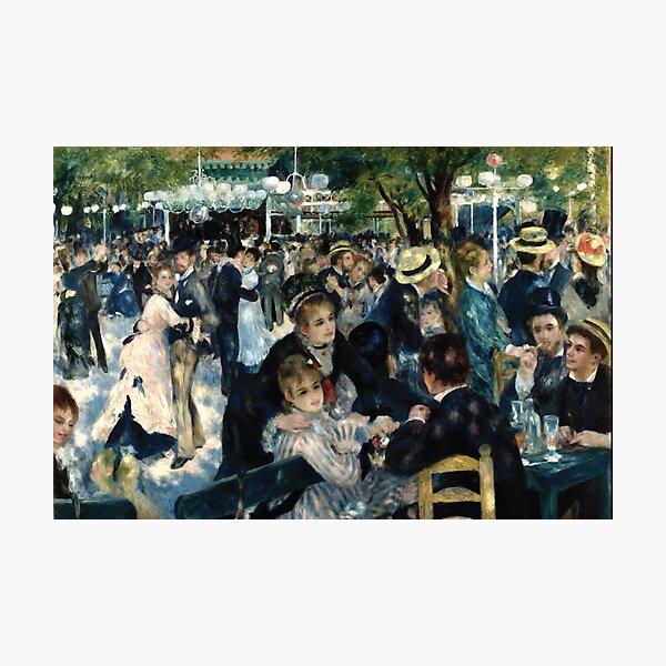 Pierre-Auguste Renoir | Bal du Moulin de la Galette Photographic Print