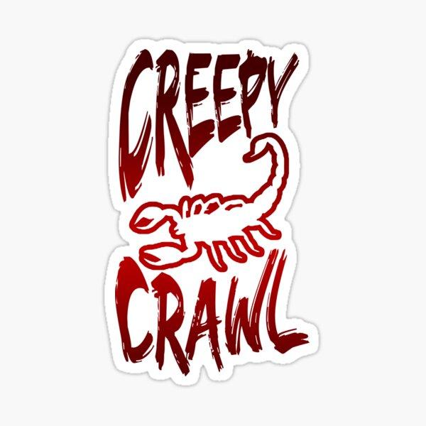 Creepy Crawl Sticker