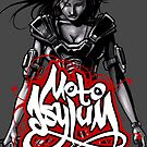 MotoAsylum Female Rider - iPhone Case by quigonjim