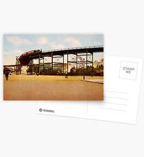 Postales Elevated Train at 110th Street NYC Photo-Print