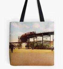 Bolsa de tela Elevated Train at 110th Street NYC Photo-Print