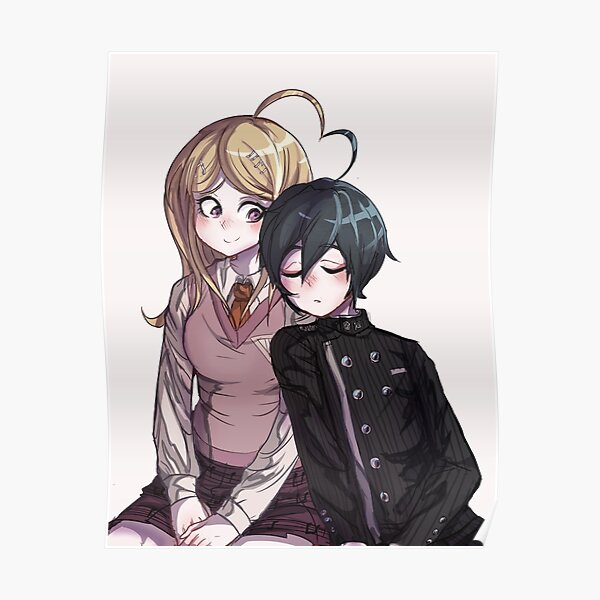 Kaede Akamatsu Posters Redbubble Izumi and ryoma looked at each other with compassion and desire. redbubble