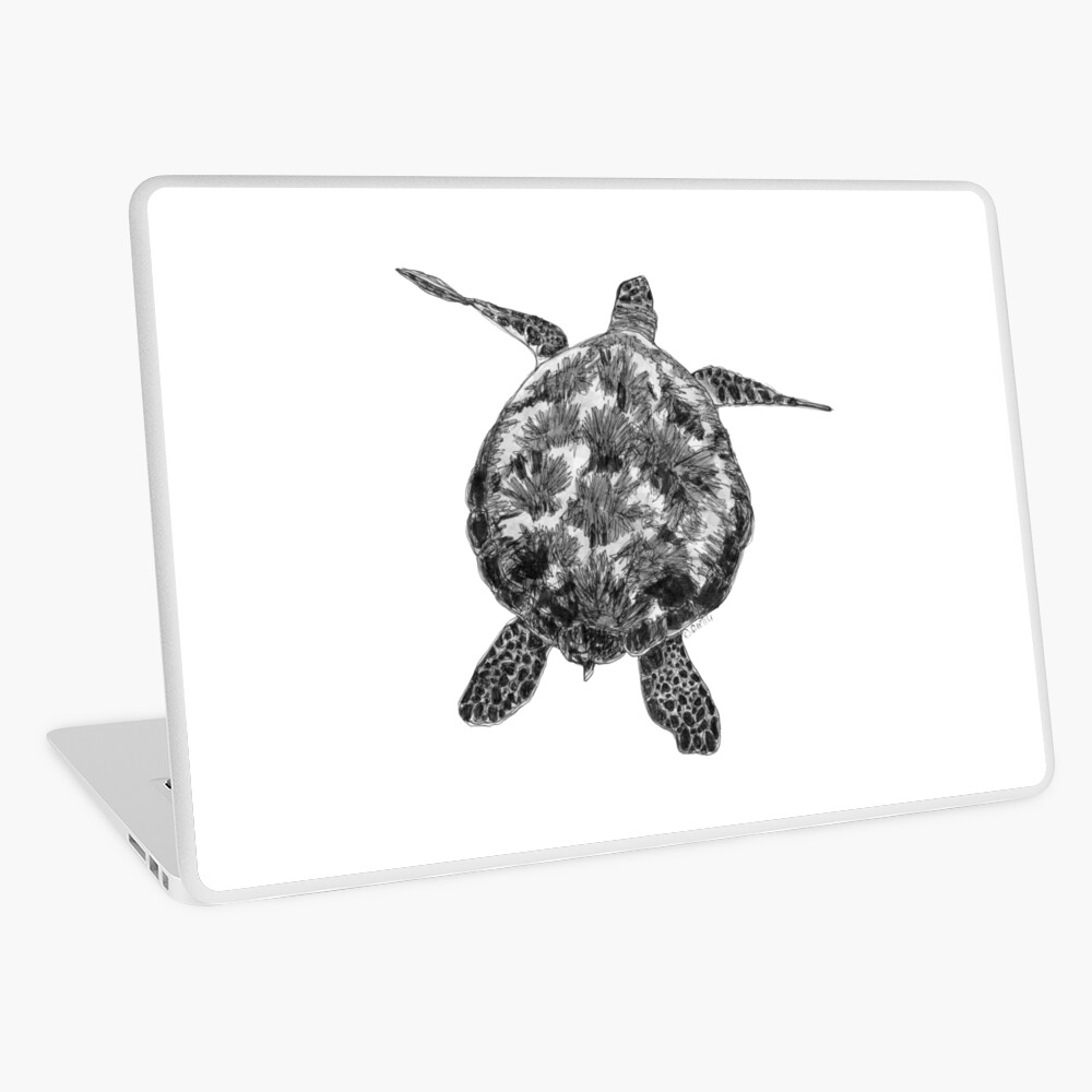 Jacki the Turtle Laptop Skin