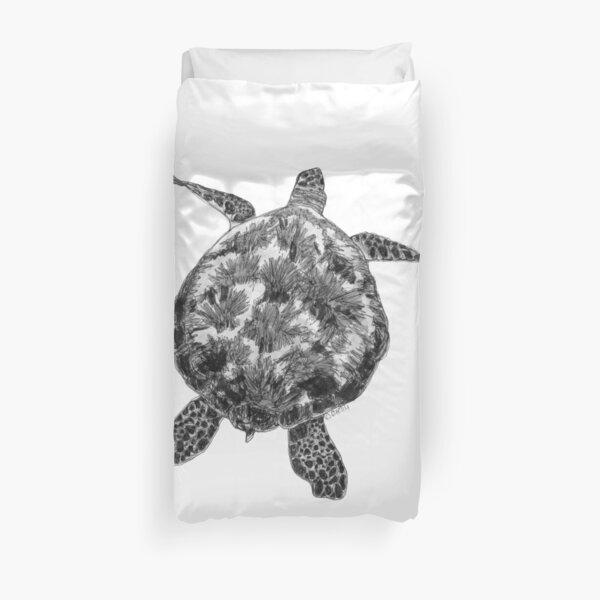 Jacki the Turtle Duvet Cover