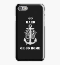 Go Hard or Go Home - Rihanna Navy Military Styled Design iPhone Case/Skin
