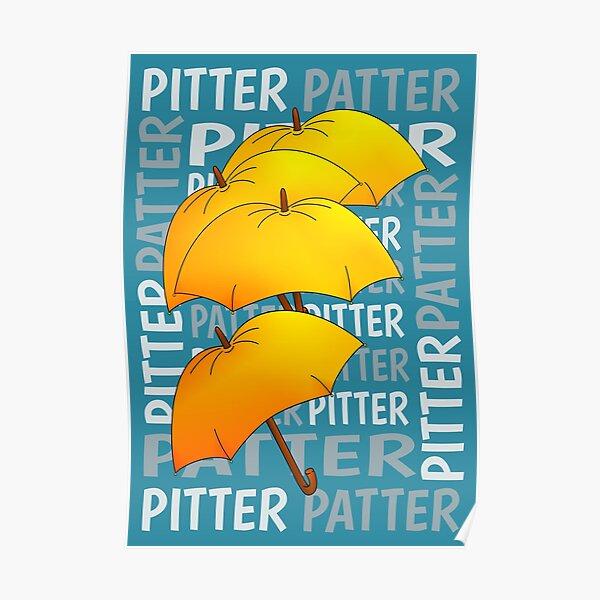 Umbrella  Pitter Patter Poster
