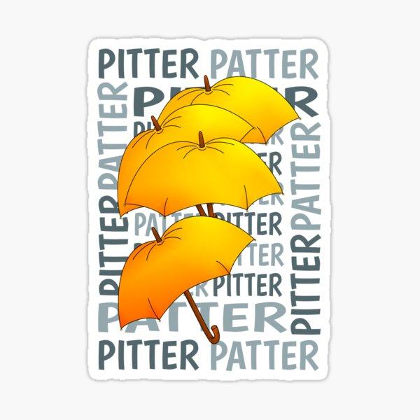 Umbrella  Pitter Patter Sticker