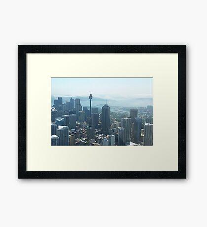 SYDNEY CITY AUSTRALIA Framed Print