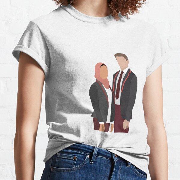 Elite Netflix - Nadia y Guzmán Camiseta clásica