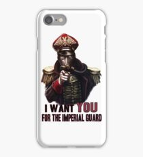 Warhammer Imperial Guard iPhone Case/Skin