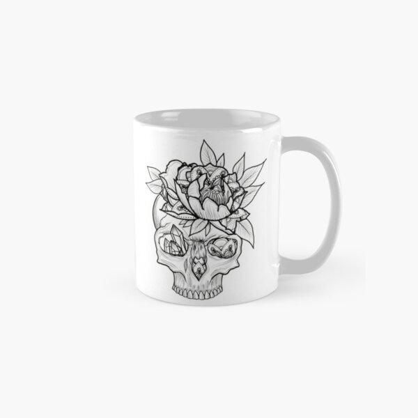 Mandala skull Classic Mug