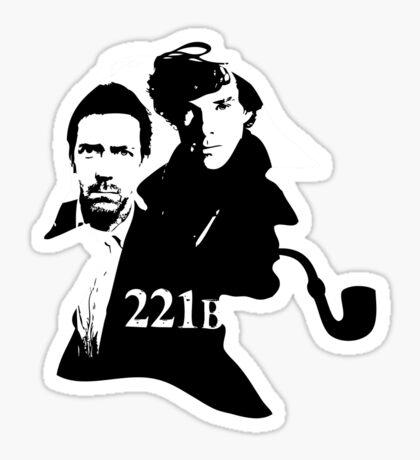 Residents of 221B Sticker