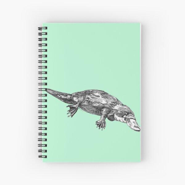 Fernando the Platypus Spiral Notebook