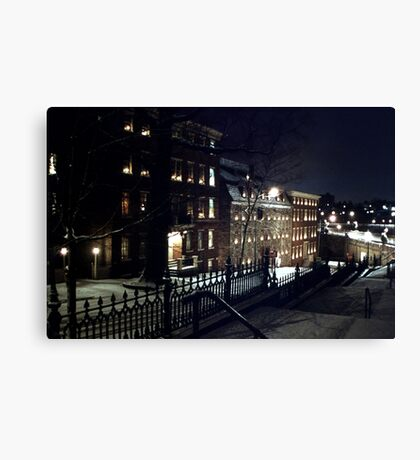 Brethren's House - Central Bethlehem Historic District Canvas Print