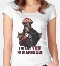Warhammer Imperial Guard Fitted Scoop T-Shirt
