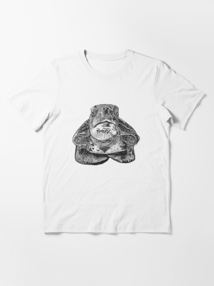 Alternate view of Cliff the Turtle Essential T-Shirt