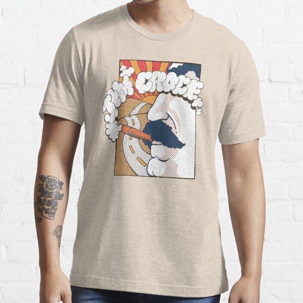 Conception de matrice de points couleur Jim Croce des années 70 T-shirt essentiel