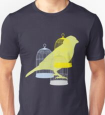 Bird and cages Unisex T-Shirt