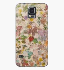 Pressed flowers Case/Skin for Samsung Galaxy