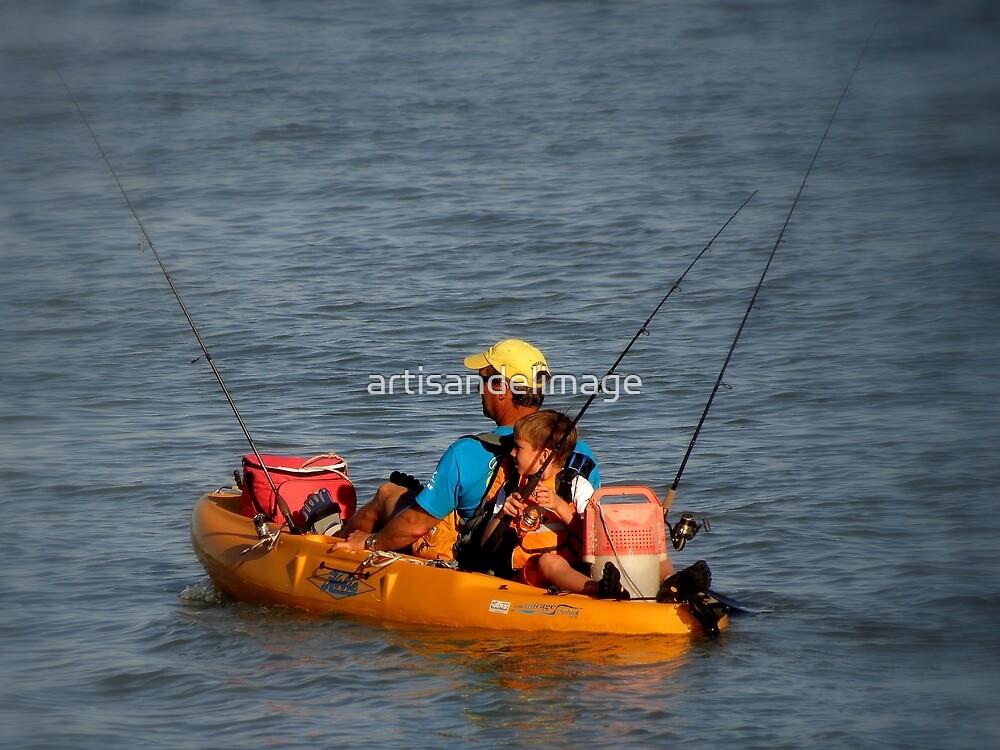 Gone Fishing by artisandelimage